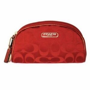 Used Coach Limited Edition Red CC For Estée Lauder